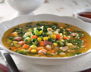 Spinach and Julienne Blend Soup