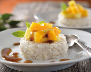 Coconut and Mango rice
